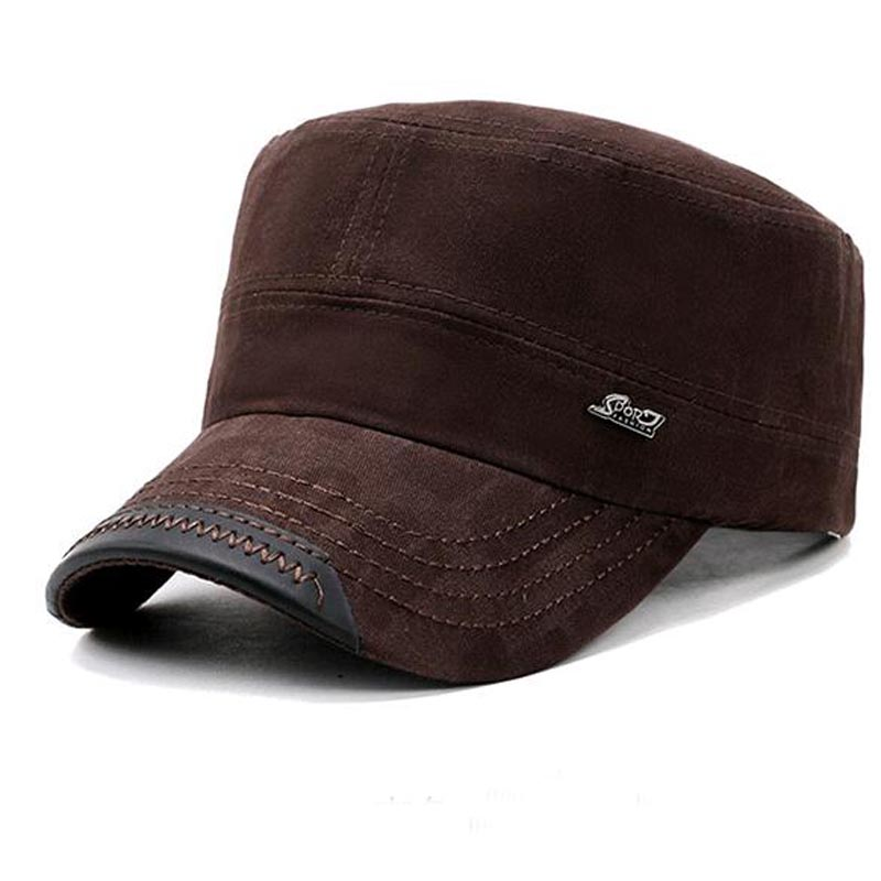 2017 New Cotton Flat cap Men Women Top Cap Socialist Vintage Hats Classic Solid Color Hat Winter Autumn baseball cap sterkowski harris tweed 8 panel gatsby classic flat cap