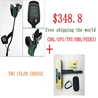 Professional Underground Metal Detector GF2 With 2coils Treasure Hunter Gold Digger LCD Display Headphone