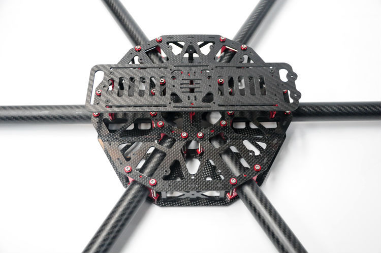 hh dragonslayer 800mm large grade professional 25mm pure carbon fiber tube x6 hexacopteroctocopter