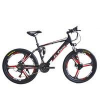 26 дюймов 350 Вт Электрический велосипед горный велосипед, 48 В литиевая батарея, передняя и задняя подвеска, дисковый тормоз ЖК дисплей