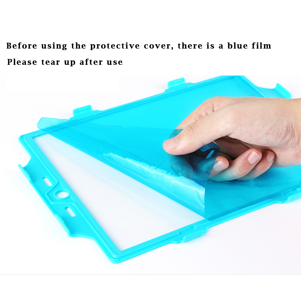 For iPad air Case 3 in 1 Protection Stand Case For apple ipad 5/ipad air Case 360 Full Shockproof Heavy Duty Silicone Hard Cover
