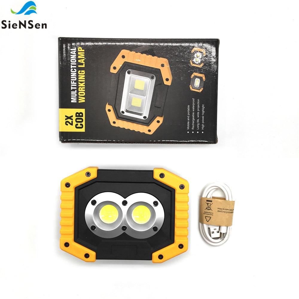 Siensen Led-Lamp Portable Car Light Charging-Flood 20W COB