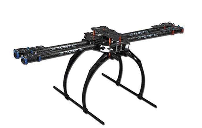 F05544 Tarot 650 Pliant 3 K En Fiber De Carbone En Aluminium Tubes Kit Cadre TL65B02 Pour Quadcopter Aéronefs