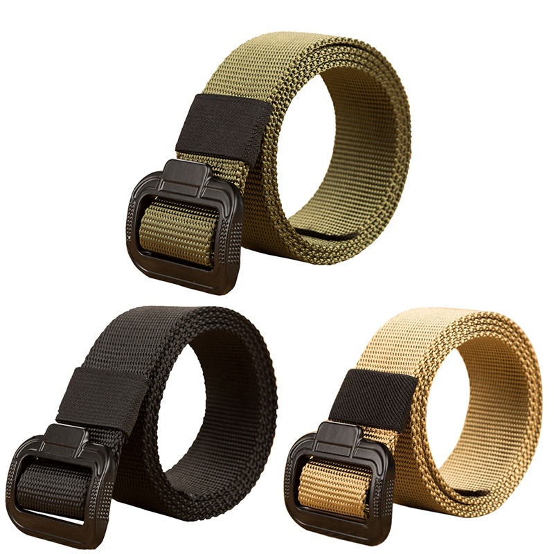 135CM New Nylon Material Mens Belt Military Outdoor Tactical Male Belts For Men Luxury High Quality