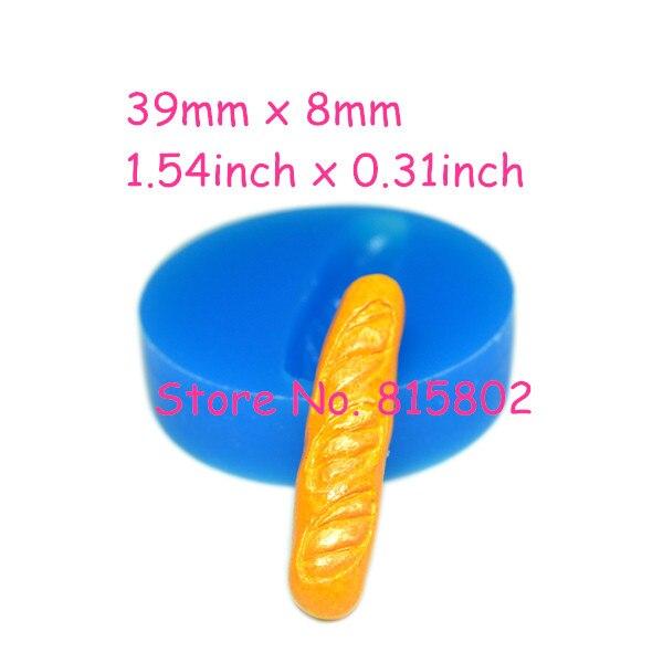 Бесплатная доставка gyl291u французский хлеб силиконовые гибкие формы 39 мм-сахарные украшения торта сотовый телефон ювелирные изделия формы, ...