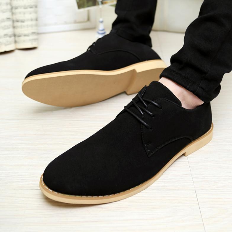 Oxfords men casual rubber shoes