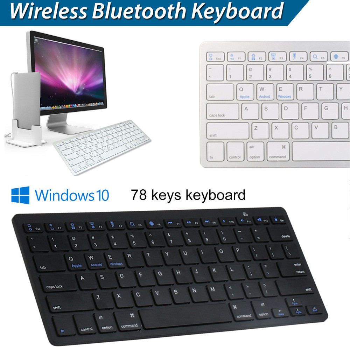 EPULA NEW Slim Wireless BT 3.0 Keyboard For iMac/iPad/Android/Phone/Tablet PC 4.19 Pakistan