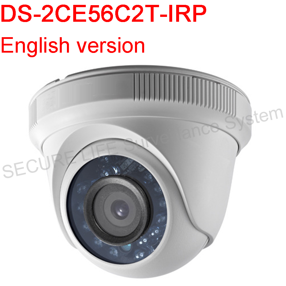 ФОТО English version DS-2CE56C2T-IRP HD720P Indoor IR Turret Camera Support 20m IR,True Day/Night