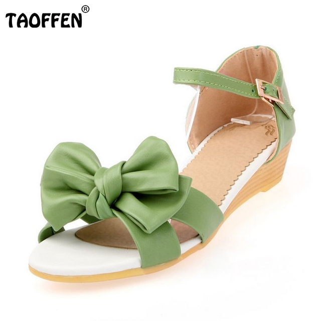 c66fe53f0bdfd2 Shoes Women Flats Sandals Girls Flower Princess Sweet Bowknot Ladies Sandals  Ankle Strap Fashion Brand Shoes Size 33-39 PA00295