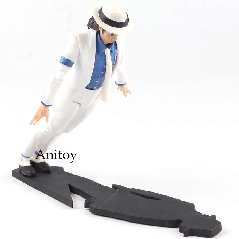 SHF Rei do POP MJ Jackson Moonwalk PVC Action Figure Collectible Modelo Toy
