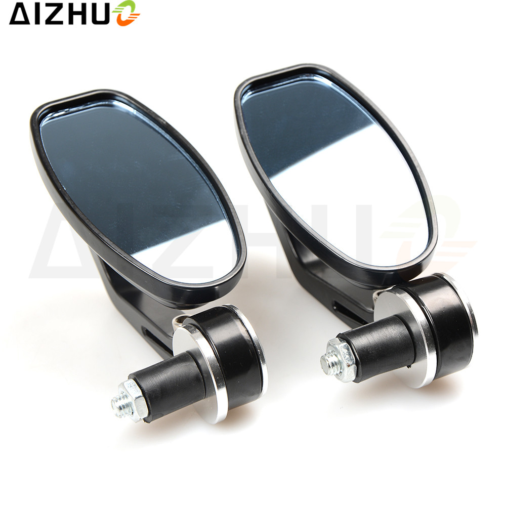 For Yamaha YZF R1 R1 Yamaha MT 07 MT07 MT 07 Motorcycle Rearview Mirrors Motor mirrors 7/8 inch CNC Aluminum Bar end mirrors