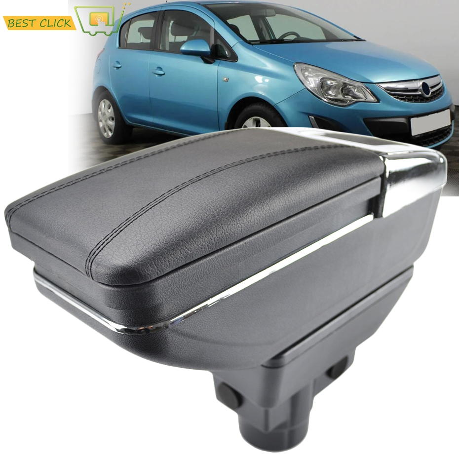 Hearty Armrest Case For Kia Rio 2012-2016 Ub New Black Central Store Box 2013 2015 Auto Replacement Parts