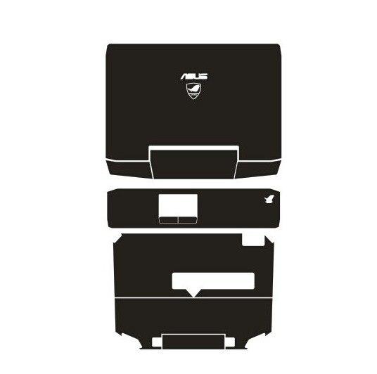 Специальные кожаные виниловые наклейки из углеродного волокна для ASUS G53 G53SW G53SX 15,6 дюйма