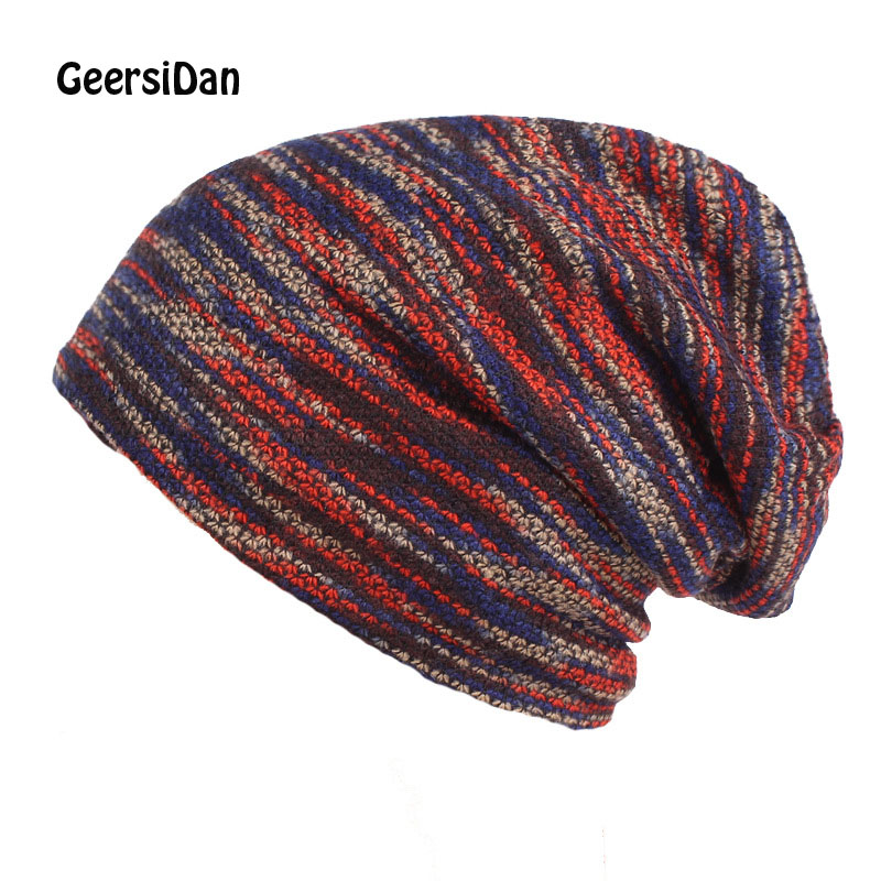 Bonnet Beanies Gorros-Caps Knitted Hat Spring Skullies Winter Women Fashion New GEERSIDAN