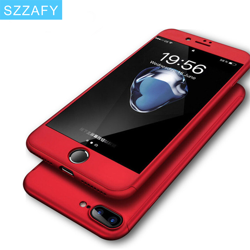 iphone 8 360 case red