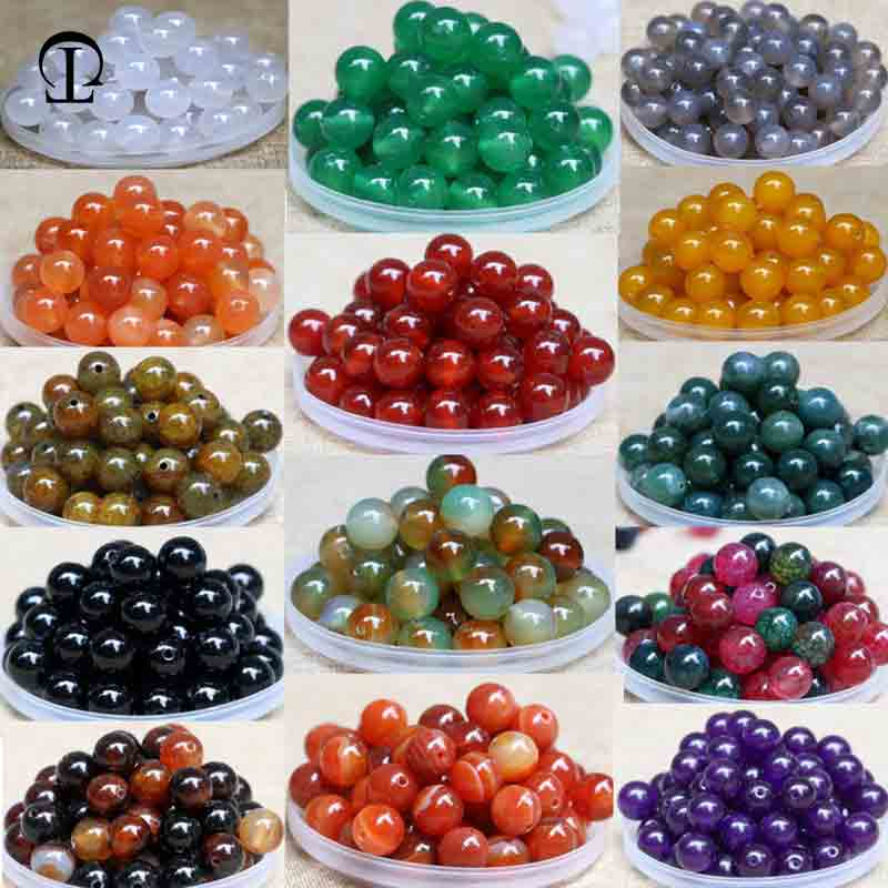 12pcs/lot 4~20mm Round Botswana Agat Beads Natural Stone Beads Loose Bead DIY pearls for clothes craft decoration Jewelry Making