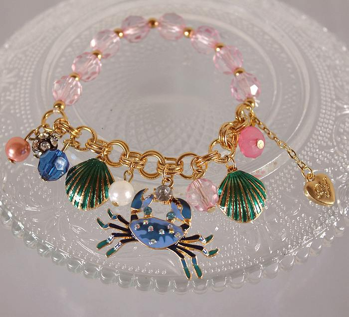 Fashion bracelet 2014 The new fashion suite 130630, shell crabs multielement bracelet pure and fresh quietly elegant simplicity