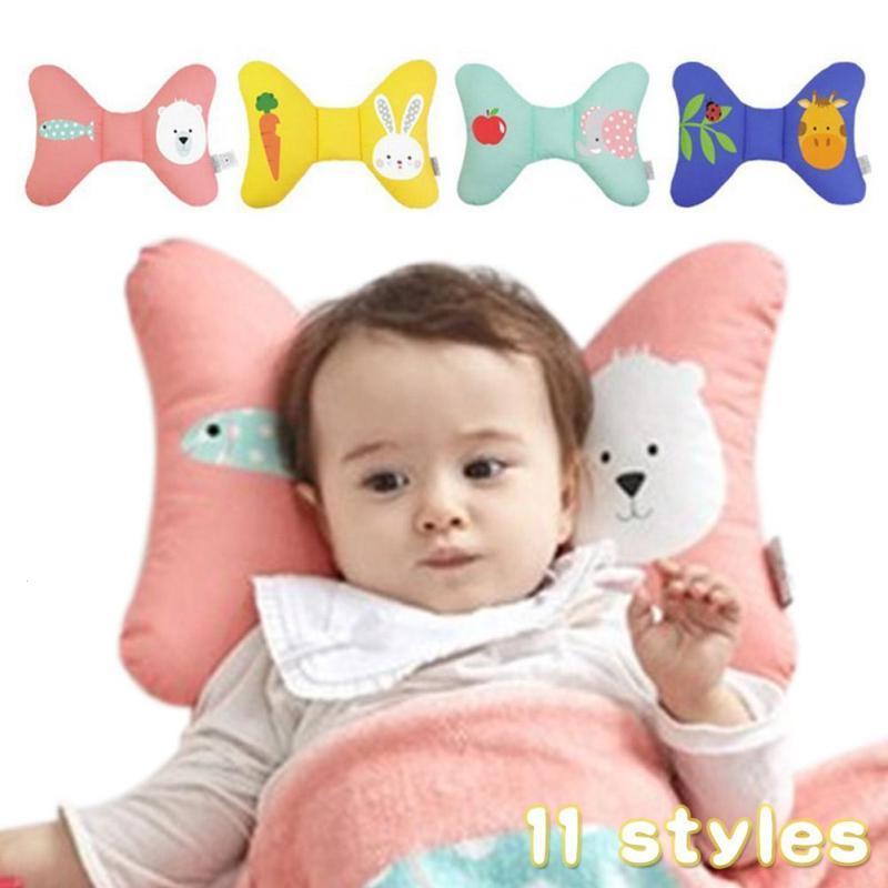 Baby head protection sleeping pillow newborn head support headrest sleep positioner anti roll cushion stroller cushion Gift D3