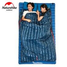 NatureHike 190×72 см холодная погода Сверхлегкий конверт гусиный пух спальный мешок для зимы Открытый природа Кемпинг пеший Туризм Путешествия