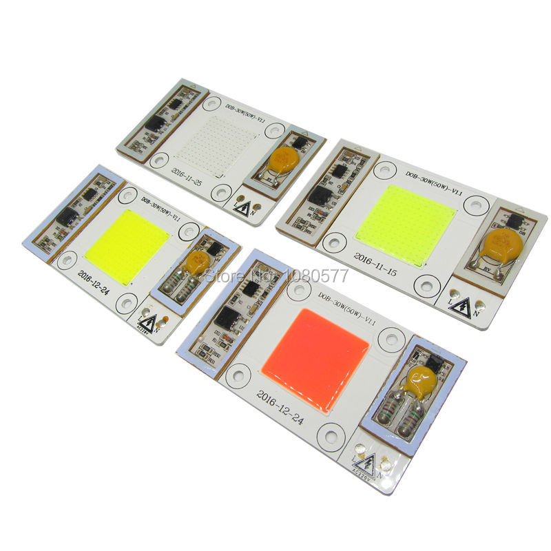 5pcs 50W AC220V 400nm-840nm Full Spectrum Warm White Cold White 440nm Blue LED Grow Light Diodes For Plant or Indoor Lighting comix durable 50 page 12 stapler w staples blue 3 pcs
