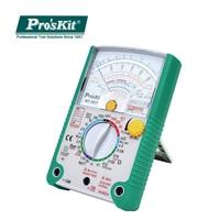 Pros'Kit MT2017 Protective Function Analog Multimeter Safety Standard Ohm Test Meter DC AC Voltage Current Resistance Multimeter