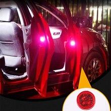 2x Porta Do Carro Luzes LED de Aviso Da Lâmpada Lâmpada de Sinal Para Ford Focus 2 1 4 3 Fiesta Mondeo Transit Fusão kuga Mustang Ranger KA-S max