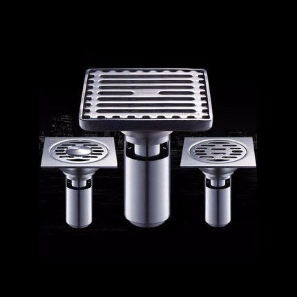 Houmaid Bathroom Stainless Steel Polished Deodorization Floor Drain Strainer Shower Room Drains Strainer
