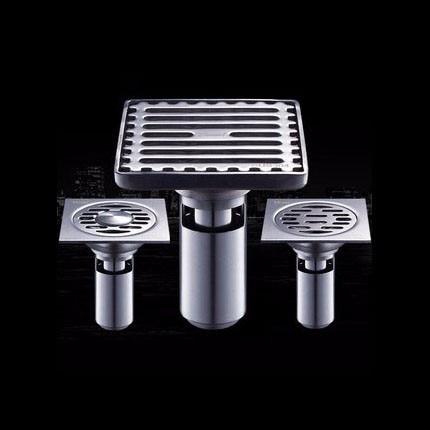 Houmaid Bathroom Stainless Steel Polished Deodorization Floor Drain Strainer Shower Room Drains Strainer