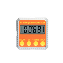 B Mini angle ruler Digital Protractor Level / Bevel Gauge / Angle Gauge / Angle Finder angle measuring tool Embedded Magnets