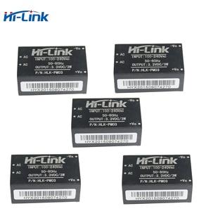 Image 1 - Q17332 5 하이 링크 HLK PM03 AC DC 220V ~ 3.3V 스텝 다운 벅 절연 전원 모듈 지능형 가정용 스위치 컨버터