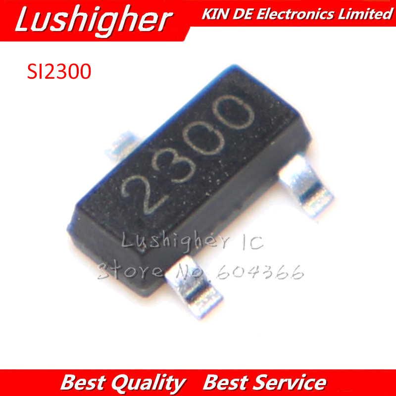50 шт. SI2300 SOT SI2300DS SOT SI2300DS-T1-E3 SOT-23 SMD MOS FET транзистор