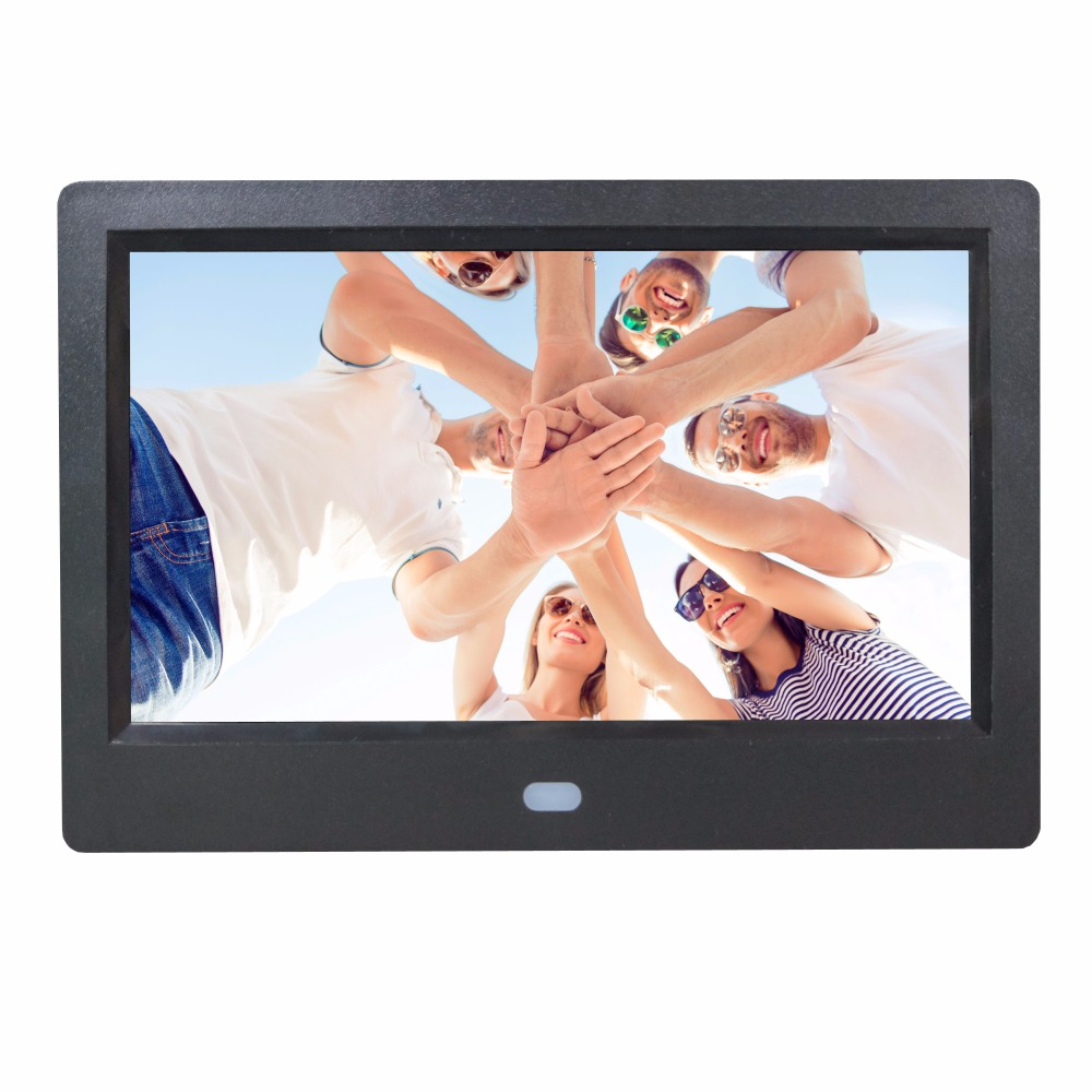 7 inch 7 inches digital photo frame digital photo frams auto play look playback picture and video support SD CARD and USB Drive
