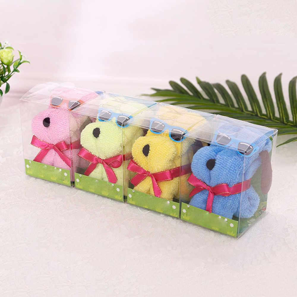 1 шт. Новинка игрушка плюшевое полотенце со щенком игрушки креативные Diy рождественские подарки в коробке плюшевые игрушки для мужчин и женщин случайный цвет