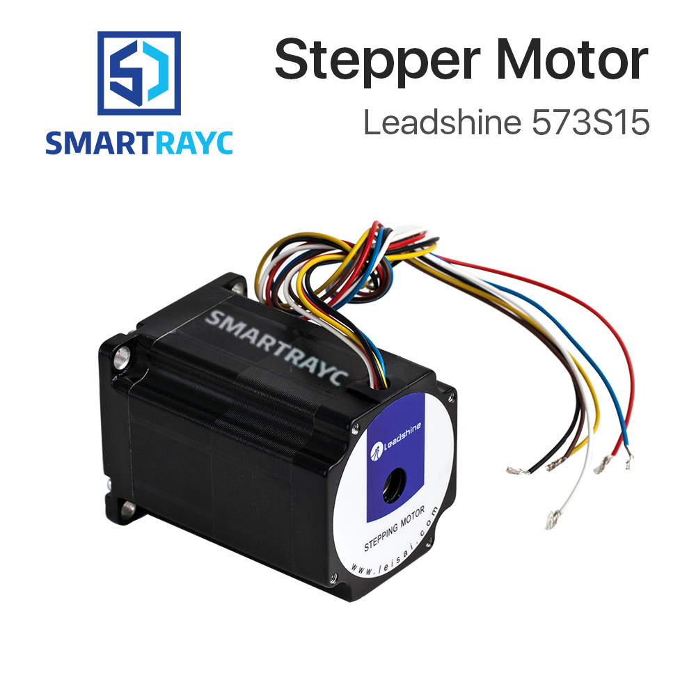 Smartrayc Leadshine 3 phase Stepper Motor 573S15 for NEMA23 5A Length 76mm Shaft 8mmSmartrayc Leadshine 3 phase Stepper Motor 573S15 for NEMA23 5A Length 76mm Shaft 8mm