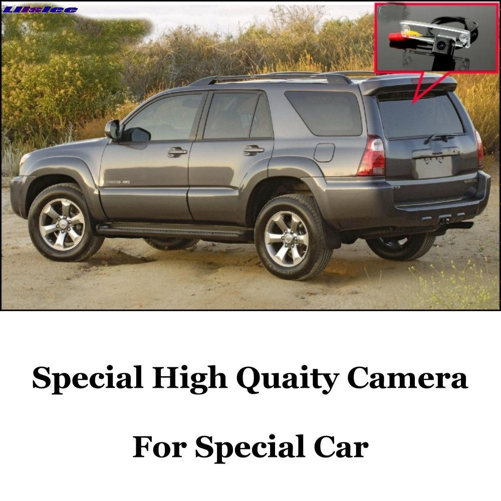 Liislee Car Camera For TOYOTA 4Runner 4 Runner SW4 N210 / Hilux Surf High Quality Rear View Back Camera   Night View + CCD + RCA