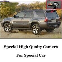 Liislee Камера для TOYOTA 4runner 4runner SW4 N210/Hilux Surf высокое качество вид сзади Камера | ночного видения+ CCD+ RCA