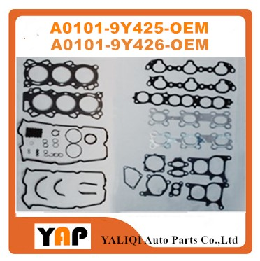 VQ23DE Refonte Joint Kit Moteur POUR FITNissan TEANA J31Z VQ23 2.3L 24 V V6 A0101-9Y425 A0101-9Y426 2000-2012