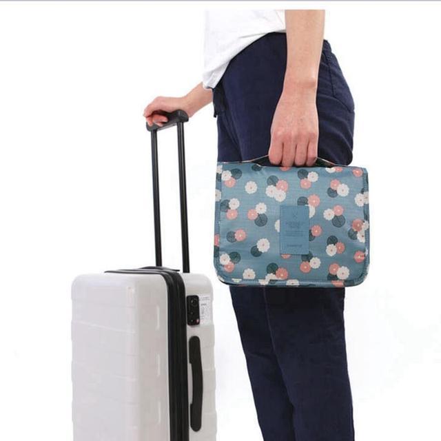 Function Travel Hanging Cosmetic Bag Women Zipper Make Up Case Organizer Storage Men Makeup Pouch Toiletry Beauty Wash Kit Bags 2