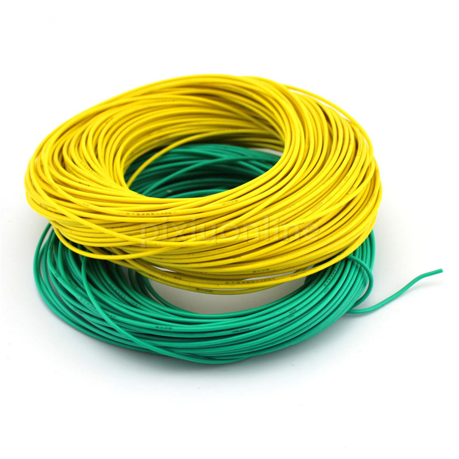1meter Pack J355 Diameter 2mm Multi Color Conductor Model Thin Copper Core Electric Wire China Mainland Electrical Wires 450 750v Diy Using Free Shipping Russia In Cables From