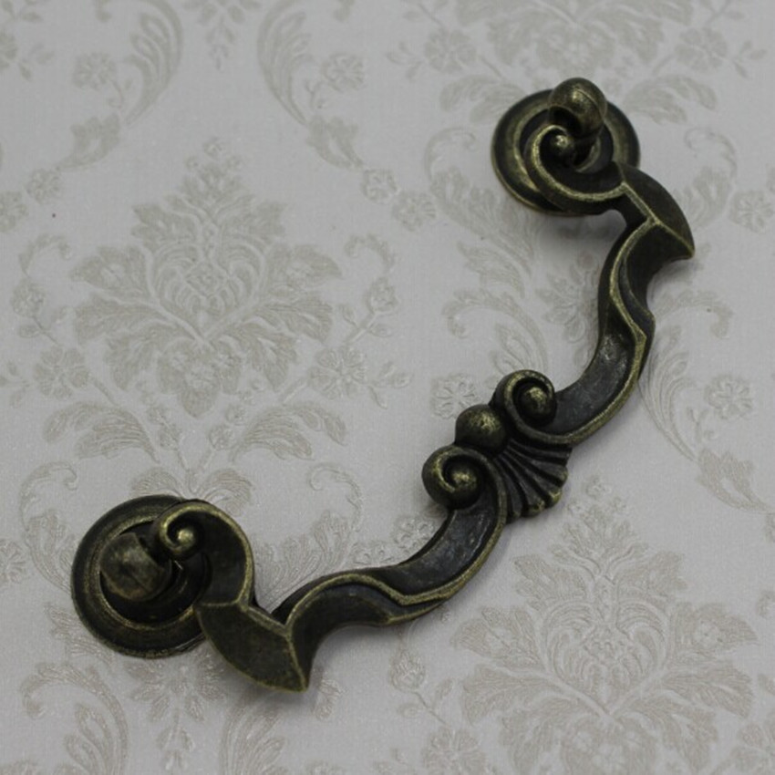 Hole Space 108mm Shaky Drop Ring Drawer Cabinet Pulls Bronze zinc alloy  dresser shoe cabinet furniture handles pulls knobsCabinet Pull Rings Promotion Shop for Promotional Cabinet Pull  . Drop Ring Drawer Pulls. Home Design Ideas