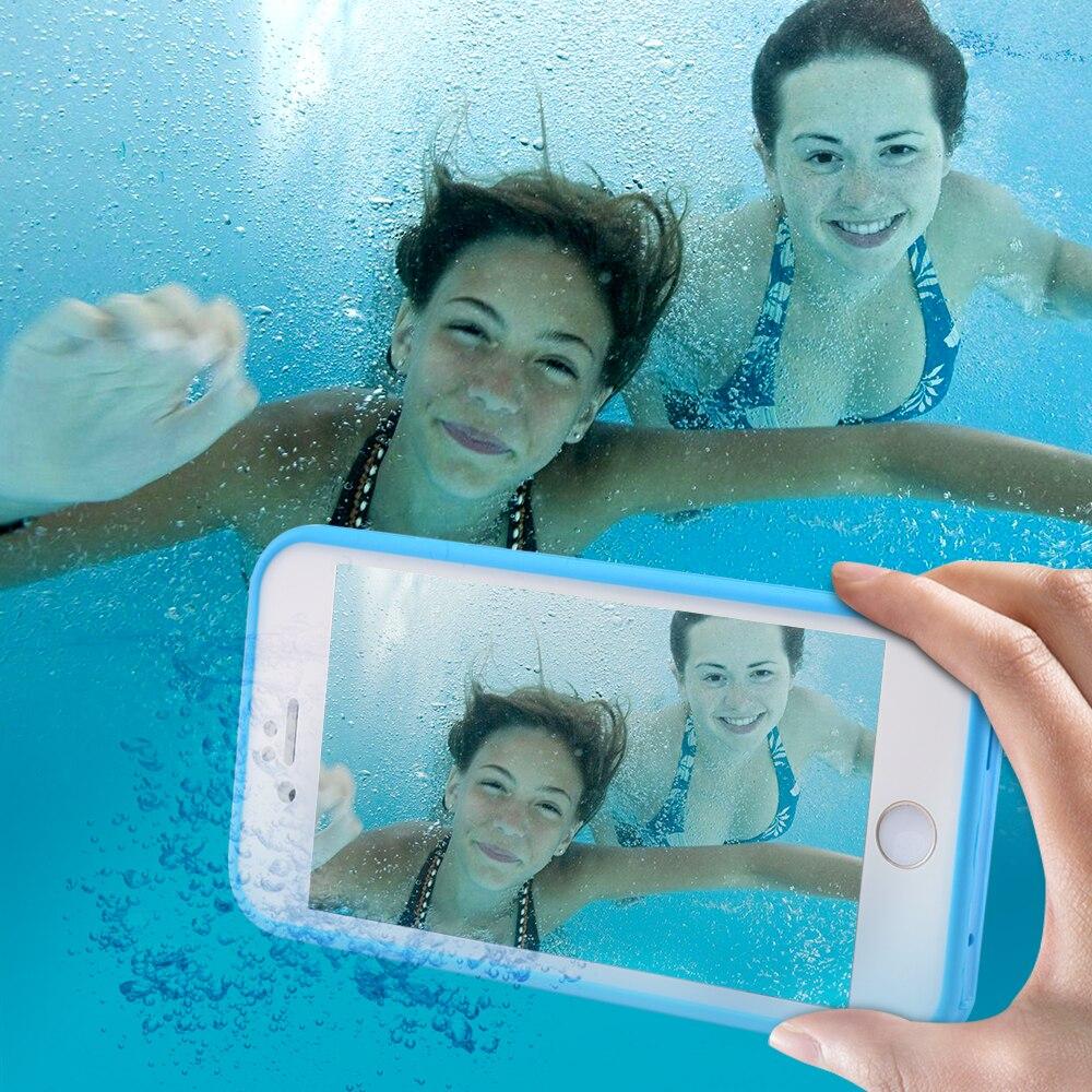 KISSCASE vodootporne futrole za iPhone 5s Se 7 XR XS Max dodirljiva - Oprema i rezervni dijelovi za mobitele
