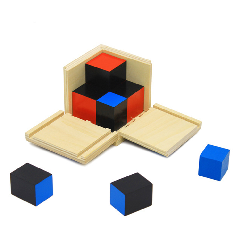 Children Wooden Block Cube Carving Wood Building Toy Wooden Block Montessori Binomial Baby Educational Early Learning Toys 81pcs set assemblled gear block montessori educational toy plastic building blocks toy for children fun block board game toy