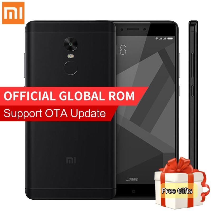 Original Xiaomi Redmi Note 4X 4 X 3GB RAM 32GB ROM Mobile Phone Snapdragon 625 Octa