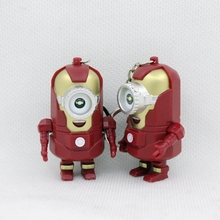 The Avengers Alliance LED Minions Keychain