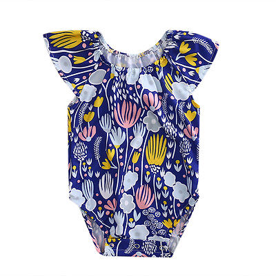 Newborn Baby Girl Floral Romper Jumpsuit Outfit 2017 New Toddler Infant Clothing Summer Baby Onesie 0-1Y toddler newborn infant baby girl floral romper jumpsuit outfits summer baby girl clothes sunsuit cotton baby onesie outfit