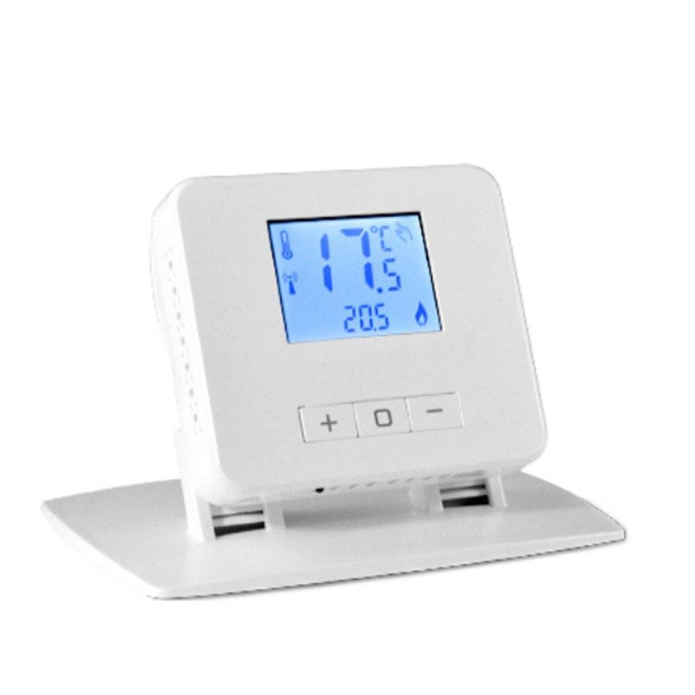 Thermostat numérique sans fil de chauffage de pièce pour les chaudières de gaz de pièce résidentielle