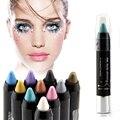 Delineador de maquiagem sombra de olho lápis brilhante 13 cores cosméticos maquiagem à prova d ' água de sombra A2