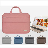 Fashion Men Felt Men Women Soft Nylon Notebook Sleeve Multi Pocket For Dell Asus Lenovo HP