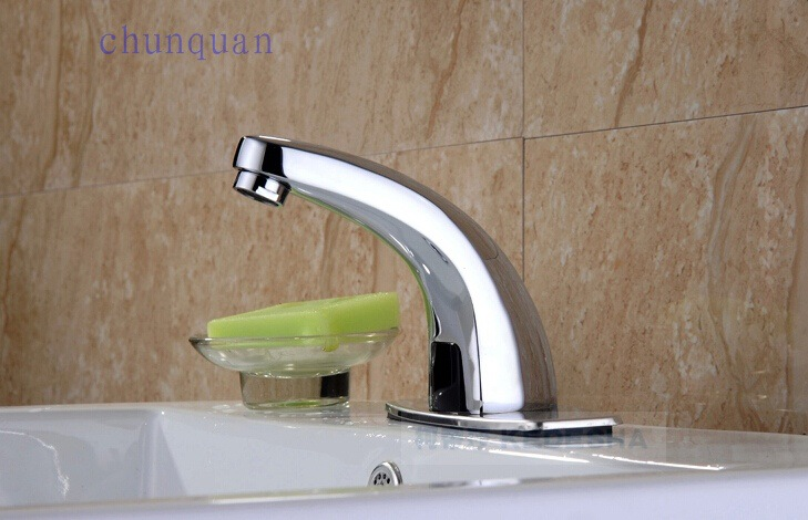 Dofaso Alloy Classic Sensor Automatic Faucet Bathroom Sensitive Induction  Faucet With Safe Ac Control Box Sense Bathroom Tap In Basin Faucets From  Home ...
