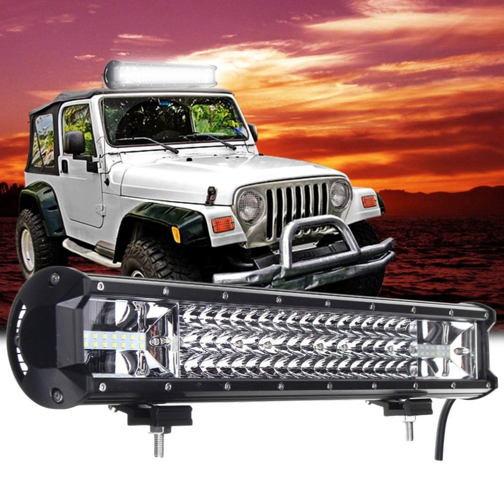 20 Inch 540W LED Working Strip Light Flood Spot Combo Off-road Driving Lamp Work LED Light Bar for Off Road Boat Car Truck